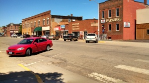 downtown Madison, SD
