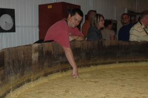fermenting the mash - yummy