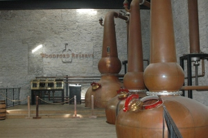 triple distilled at Woodford Reserve