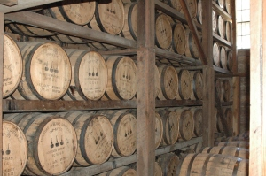 barrel warehouse - Woodford Reserve