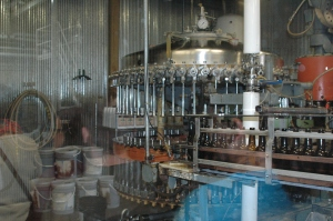 1940's bottling machine