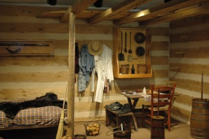 Life in a 1 room log cabin