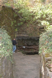 Sinking Springs on Lincoln's birthplace