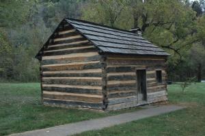 Austin Gollaher's cabin