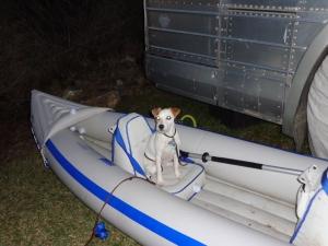 I'm ready to paddle