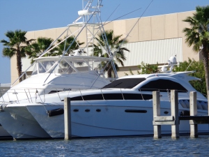 Sea Ray's new yacht
