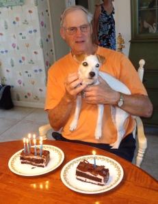 Grandpa Stu and I