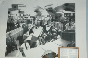photo of mission control