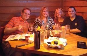 Andy, Maddie, Jackie, me and Dan