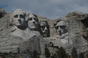 Mt Rushmore from Hwy 244