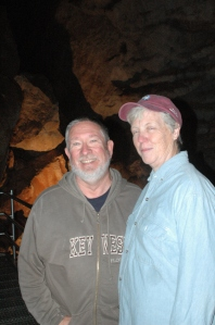 Forrest & Mary in Jewel Cave
