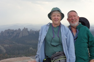 Mary & Forrest at the top!