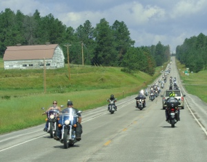 on the way to Sturgis