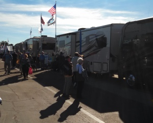 lots of RV's