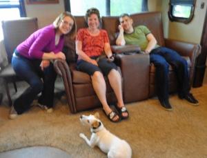 Carmen, Julia, Luke & I