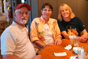Dick, Cheryl & I