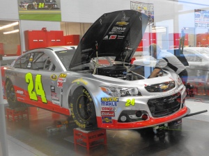 working on the 24 car