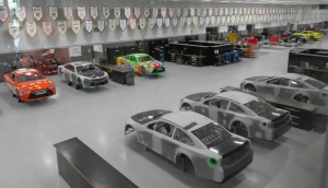 Joe Gibbs garage