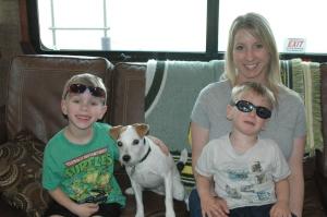 Cole, Austin and Jodi
