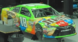 Crispy M and M's car
