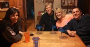 Annette, Brian, me & Dan
