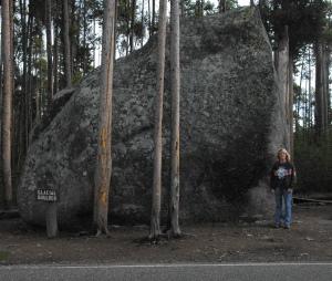 glacier boulder