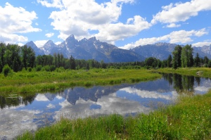 view of Grand Tetons