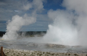 twin eruptions