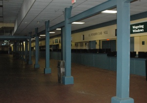 betting area under stands